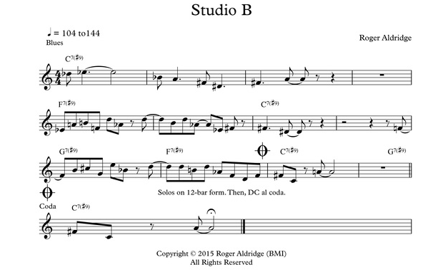 Studio B composed by Roger Aldridge